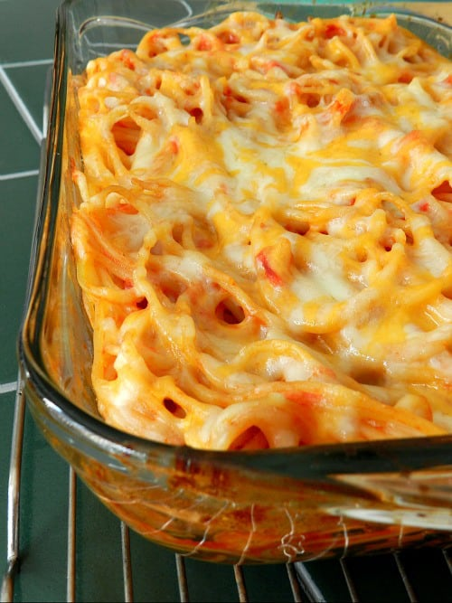 Baked Spaghetti - Recipes & Me