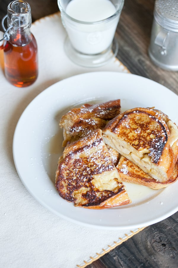 stuffed french toast baked banana stuffed french toast recept yummly ...