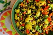 Black Bean, Corn and Mango Salad