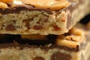 Caramel Crunch Bars & Salted Butter Caramel Ice Cream