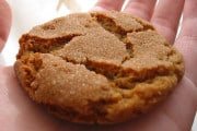 Christmas homemade Ginger Snap Cookies