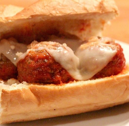 Meatball Sandwich - Recipes & Me