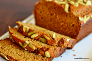 Olive Oil Pumpkin Bread