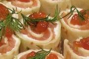 Salmon Pinwheels