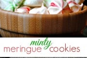 Yummy Minty Meringue Cookies