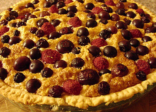 Almond and Blueberry Tart