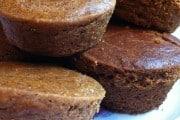 Grain/Gluten-free, Sugar-free Pumpkin Muffins