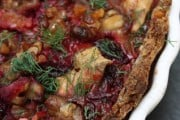 Roasted Beetroot Tart