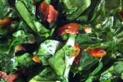 Sweet Potato Salad with Sesame, Garlic, Kale
