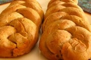 Whole Wheat Herb Braided Bread