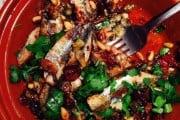 Garlic chilli sardines