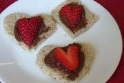 Valentine's Day Easy Strawberry snacks