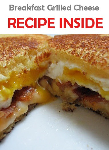 Breakfast Grilled Cheese | Recipes & Me