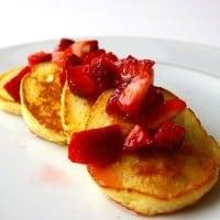 Luscious Lemon Ricotta Pancakes Recipe