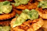 Pumpkin Spiced Chicken Tostadas