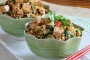 Brown Rice with Tofu