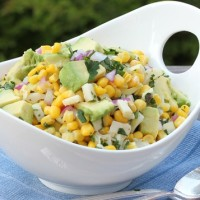 Corn and Heart of Palm Salad