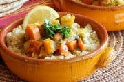 Vegetable Stew with Moroccan Flavors
