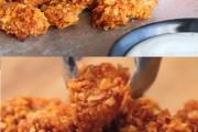 Easy Barbecue Popcorn Chicken