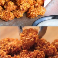 Easy Barbecue Popcorn Chicken