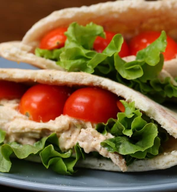 Healthy Chicken Salad Pockets Recipe