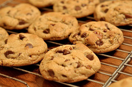 Chocolate Chip Cookies for Christmas Eve
