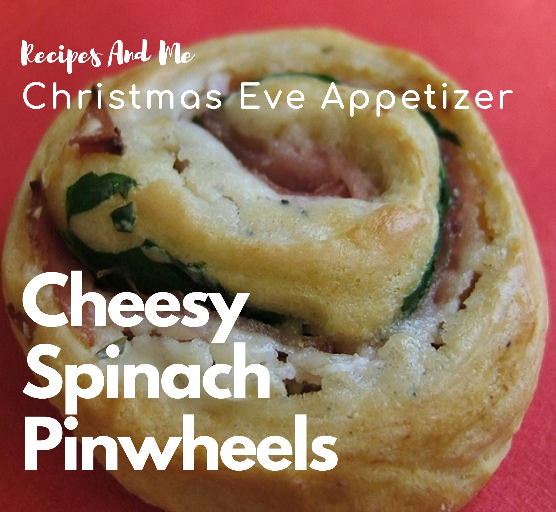 Christmas Eve Appetizer: Cheesy Spinach Pinwheels #recipes #Healthy #Dinner #lunch #Christmas #Appetizers #cooking #simple #mealprep #Easy