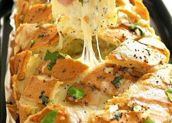 Stuffed Cheesy Italian Bread