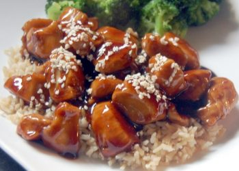 Chinese Sesame Chicken Recipe With Rice