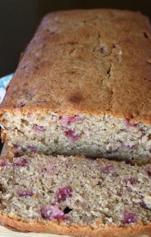 Strawberry Banana Bread