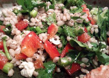 Barley Feta Salad
