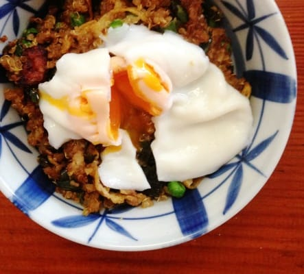 Fried Rice Quinoa