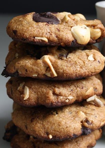 Vegan Hazelnut Cookies