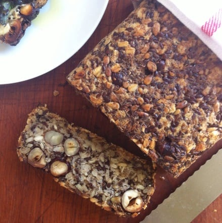 Seedy Bread with Nuts