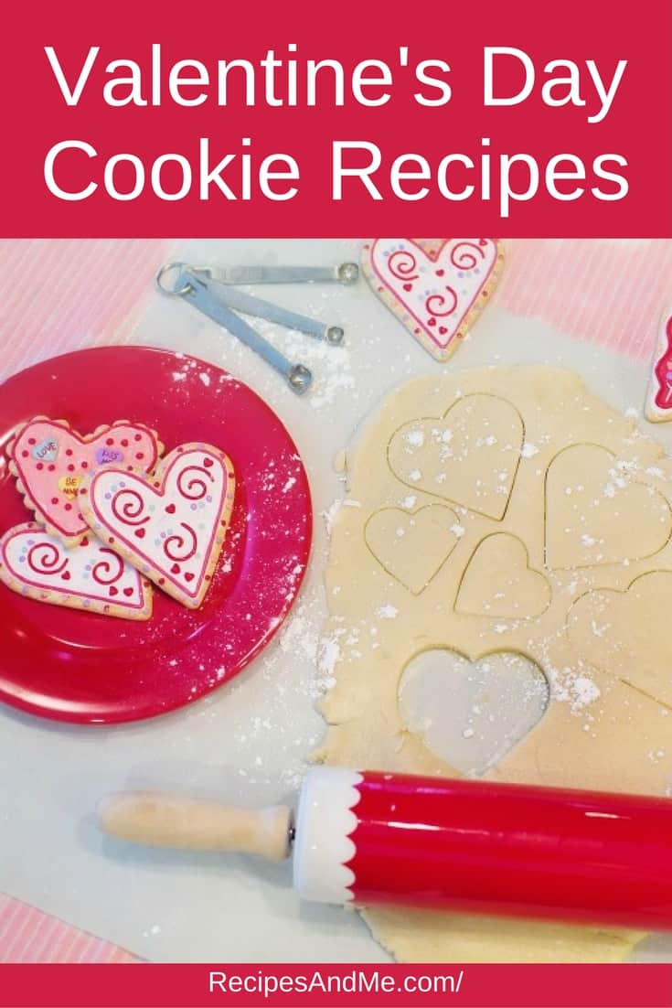 Valentine's Day Cookie Recipes #recipes #Healthy #Dessert #cookies #snack #cooking #simple #mealprep #Easy
