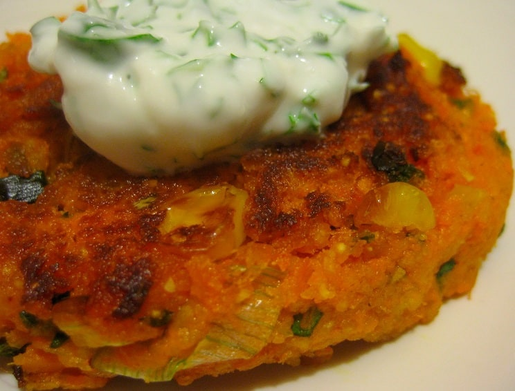 Corn Fritters with Cheddar