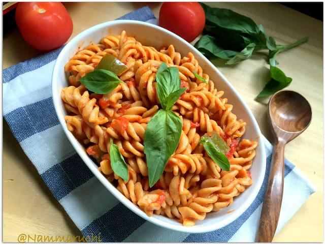 Tomato Basil Baked Pasta Recipe