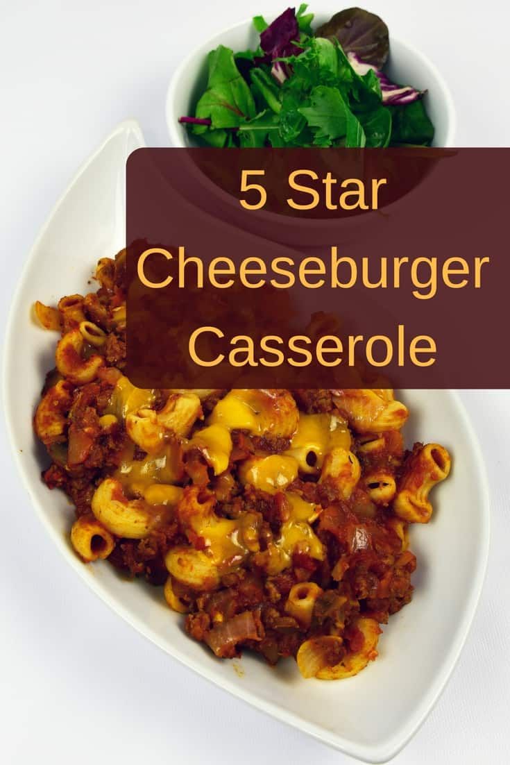 Easy cheeseburger casserole your entire family will love!