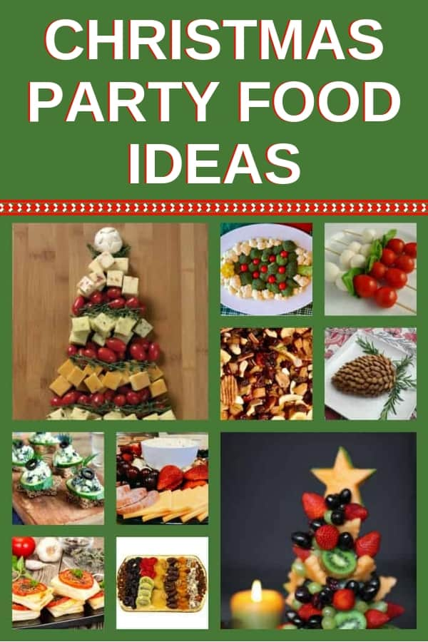 Looking for some easy Christmas party food ideas for a crowd? These appetizers are perfect pre-party snacks, great for kids and adults alike, healthy, inexpensive, sweet and salty: something for everyone at your party. Who says entertaining in style can't be done on a budget? Take a look at these delicious holiday party ideas. #Christmas #christmasparty #christmasrecipes #christmasappetizers #partyfood #partyideas