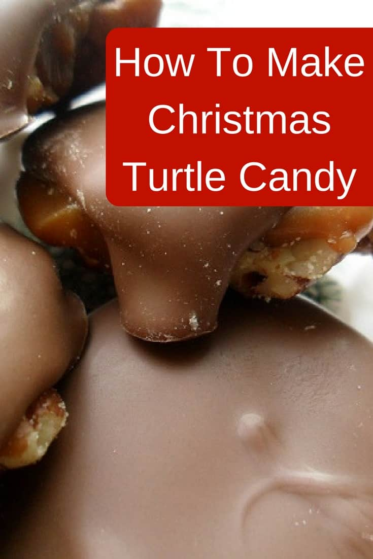How to make Christmas turtle candy