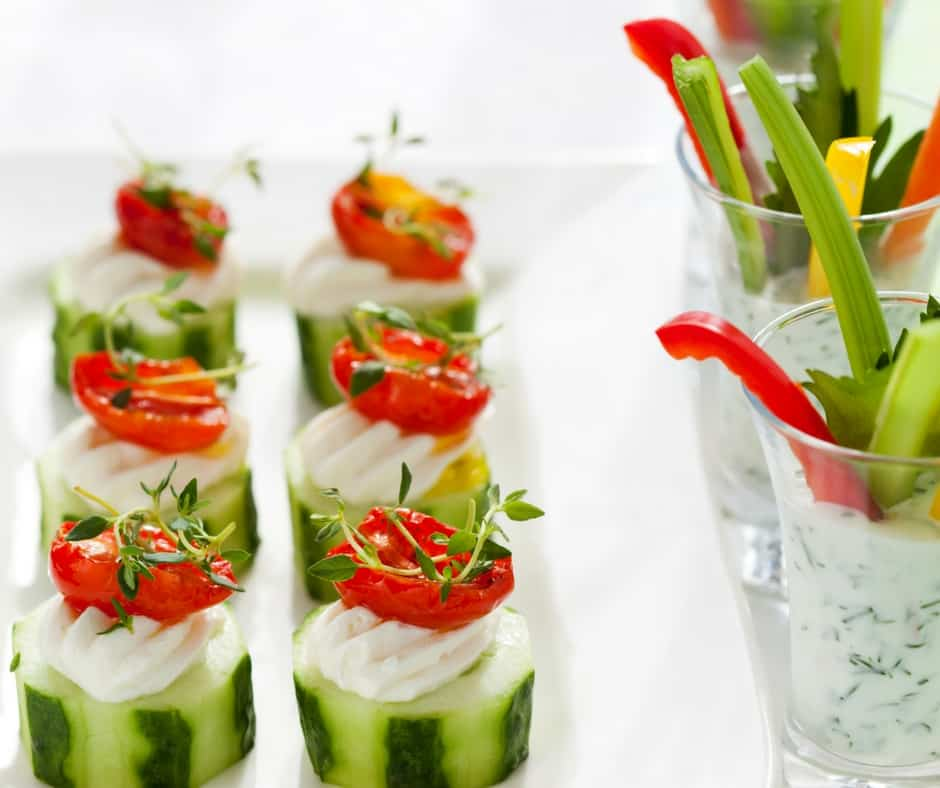 Vegetarian appetizer recipes