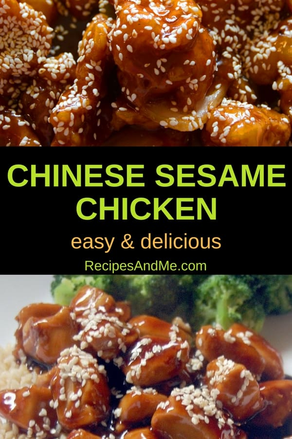 Looking for an Asian inspired meal that's perfect for a weeknight as well as the weekend? This Chinese sesame chicken recipe is easy to make, and very versatile. Way better than takeout, especially when you couple it with streamed or roasted veggies, you'll want this healthy option in your weekly rotation.