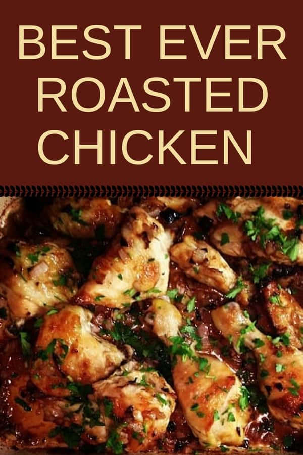 There aren't many dishes as easy to cook as roasted chicken. This is the best roasted chicken recipe in my opinion. #recipes #Healthy #Dinner #lunch #chicken #cooking #simple #mealprep #Easy