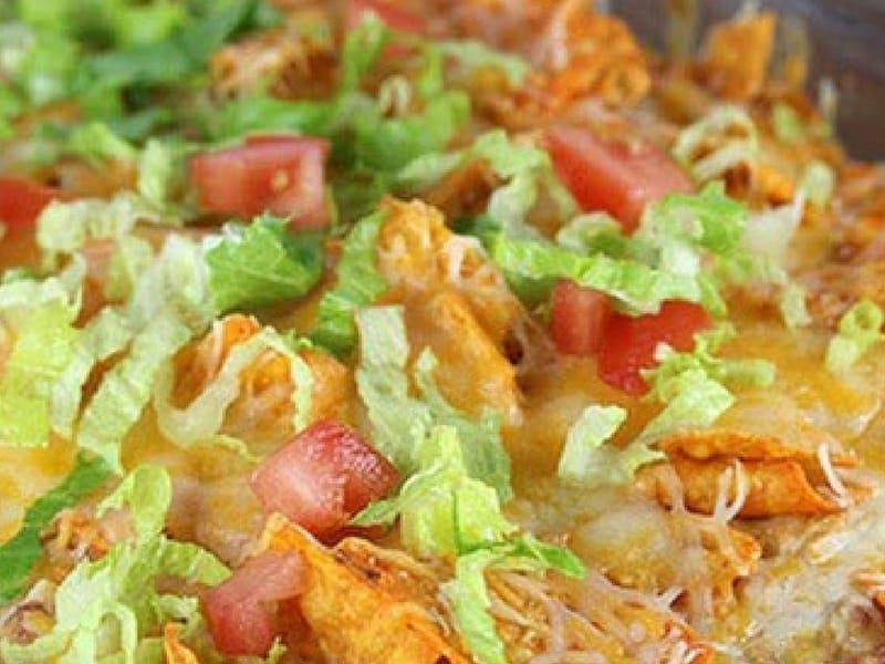 Mexican Dorito Chicken Casserole