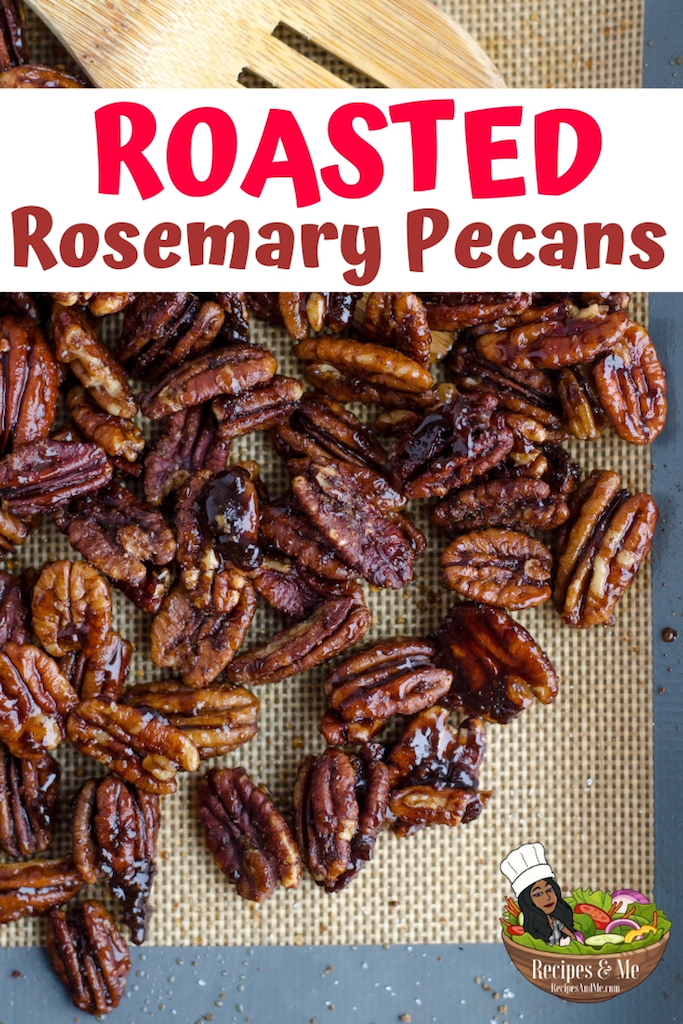If you're looking for a little bit of sweetness for your sweet tooth, and a little bit of spice for your wilder taste buds, then this roasted rosemary pecans recipe is sure to hit the mark. #RoastedPecans #RoastedPecansRecipe #HolidayRecipes #Pecans #Christmas #Thanksgiving #Desserts #Appetizers #HealthyFood #HealthyFoodRecipe #Snacks #SpicedNuts #Savory #Recipe #Spicy #Rosemary #Roasted #RoastedNuts