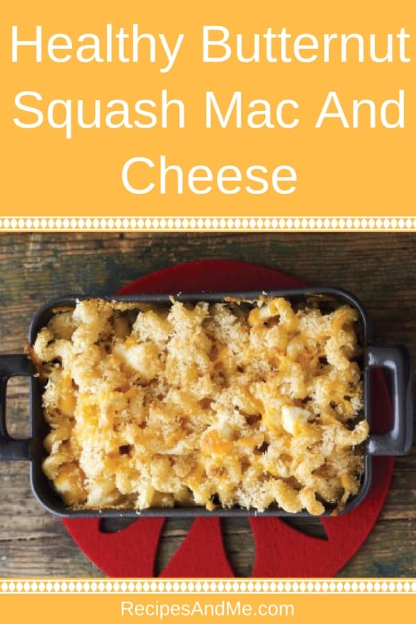 This healthy baked butternut squash mac and cheese is a must try for every family: easy to make, creamy, cheesy, tasty, and yet healthy. Your kids will ask for seconds and thirds, and you'll be glad to know they are getting their vitamins ;)