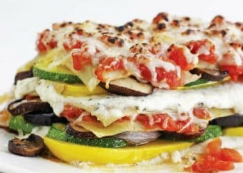 Roasted Zucchini And Summer Squash Lasagna