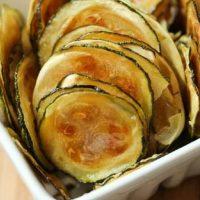 Tasty zucchini chips
