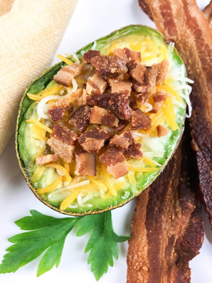 Loaded Avocado Baked Eggs