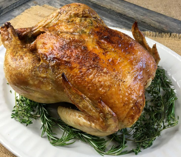 Garlic-Herb Whole Roasted Chicken